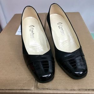 Leather and suede Italian shoes size 7